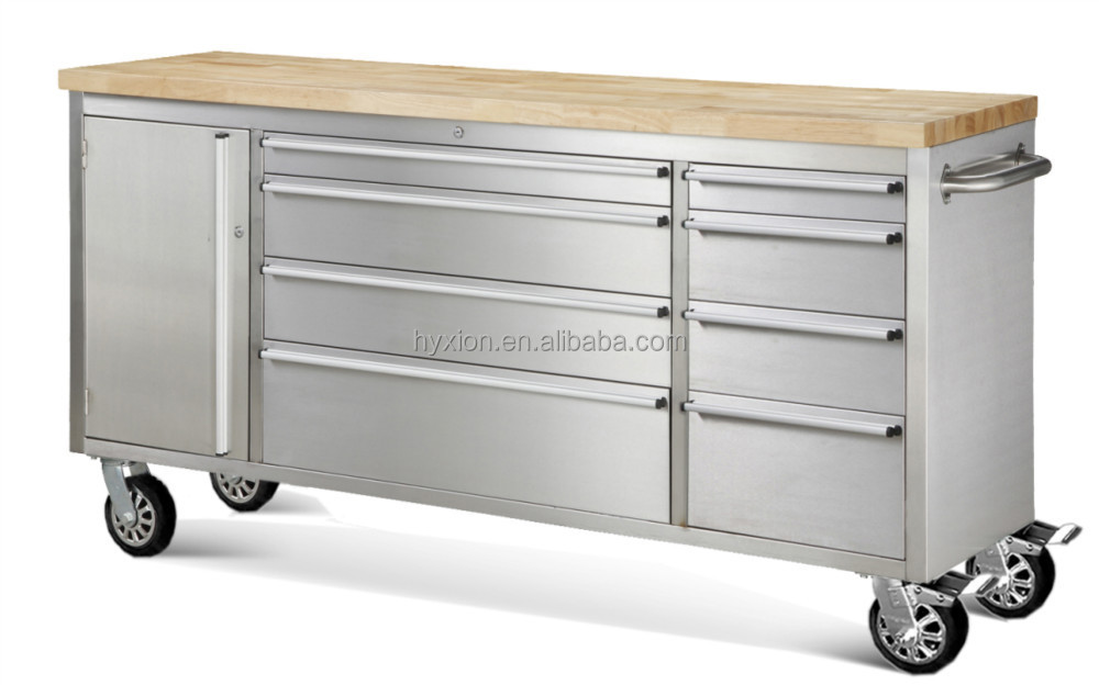 metal trolley with drawers 2