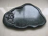 Green Jade granite stone Molding Border plate Tea tray sink