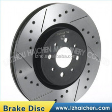 China rear color zinc-plated punch line disc brake