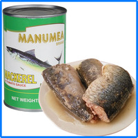 210g Chinese canned mackerel fish in oil