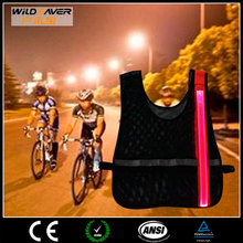 High Vis LED focus cycling clothing