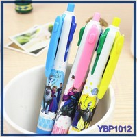 stationery from korea bulk ballpoint pens 4 color ball pen with mechanical pencil