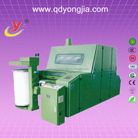 electric carding machine/fiber carding machine/small textile prototype machinery-Carding machine 150929