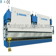2-WE67K-250/6000 CNC hydraulic tandem press brake,lamp pole and street pole bending and making machine manufacture in china