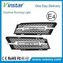 12V,6W*2 LED drls BW e90 LED Daytime Running Light for bmw E90(05-08)