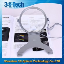 DH-81023 plastic led illuminated magnifying glass