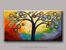 New arrival landscape art craft acrylic painting for decor