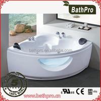 Modern #304 stainless steel frame hotel style massage bathtub R8704