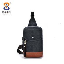 Men's Canvas Messenger Cross Body shoulder bag Chest Bag
