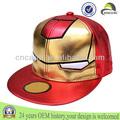 Super héroe piel a la moda hiphop kpop snapback sombrero