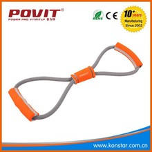 Fitness & Body Building Resistance Bands Yoga Strap Belt 8 Characters Pull Rope Pilates Chest Expander Yoga Supplies