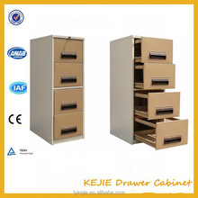 China Professional Filing Cabinet Factory Steel Drawer Wardrobe metal Movable Drawer Cabinet with Wheels
