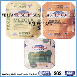 50kg Kraft Valve Cement Bag Paper Sack, Paper Sack