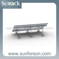 Solar module mounting system roof pv panel mount frame