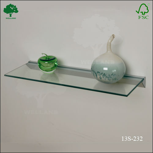 Revestimiento ba o rustico for Estantes vidrio bano