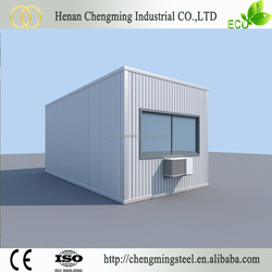 Transportable Small Pre-Made Prebuilt Rainproof Luxury Shipping Container Flat Hotel