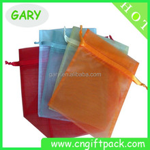 best selling cheap drawstring organza bags with band bags
