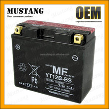 Dry Charged MF Sealed 12V Motorcycle Battery Lead Acid Battery