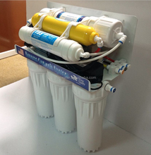 6 stages reverse osmosis system PP5+GAC+CTO+RO membrane +T33+Mineral fitler