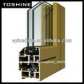 venta caliente de la aleación de aluminio 6063 t5 extrusión de perfiles para ventanas