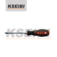 Pozidrive Screwdriver with hexagon bolster-KSEIBI