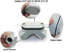 90 degree de aluminio codo para rígido