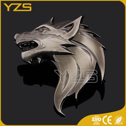 wholesale Brown wolf badge autobot car cheap price