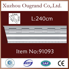 lightweight pu moulding styles for house interior decorating