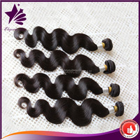 wholesale100% human body wave virgin brazilian hair extension