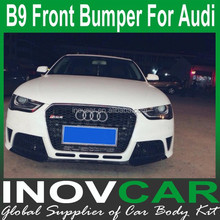 13-14 A4 B9 RS4 PP Front Bumpers Fit For Audi A4 Bumper