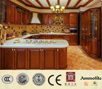 FoShan Modern Design Solid Wood Kitchen Cabinet Furniture