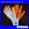 low price with super qulity SRSafety 13 Gauge knitted nylon coated black nitrile gloves/working nitrile glove/safety glove