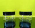 50ml frasco de plástico transparente