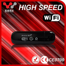 Wireless OEM GSM 7.2mbps portable USB 3g wifi router with external antenna
