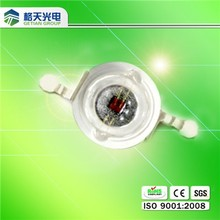 Shenzhen Hot sale high quality 585-595nm high power led yellow 1w led