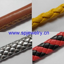 synthetic leather cord, many shapes and colors for choice
