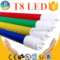 CE approval T8 color led tube