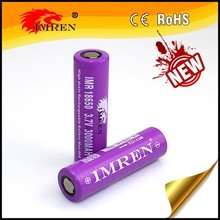 Imren18650 3000mah 40a Imren high amps 40A 3.7V 18650 3000mah li-mn battery flat top rechargeable for electric power tools