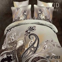 Wholesale Sales Luxury lucky 3D polyester branded bed sheet dealers in uae