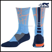 breathable sock for men/sport socks for basketball