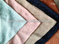 colorful mini dots picture printed thin soft smooth silk chiffon 100% polyester