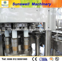 Automatic Carbonated Soft Drink Can Filling Machine