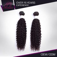 100% Tangle Free Human Virgin Brazilian Hair Extensions Types Factory