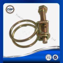W1 W2 W3 double wire hose clamp