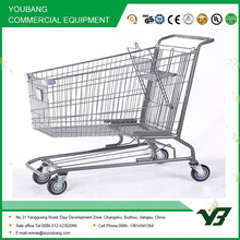 Metal shopping cart American style shopping cart popular in the USA