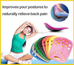 Backjoy Posture Health Product with Back Pain Relief and Pain Relief Patches