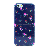 Rose Flower Ultra thin Slim TPU Case for iPhone 6 plus