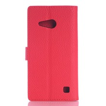 Flip PU Leather Case for Nokia Lumia 735, for Nokia Lumia 735 Wallet Case