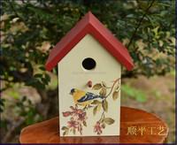 wooden cheap bird house