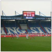 led football substitute board display football pitch led display